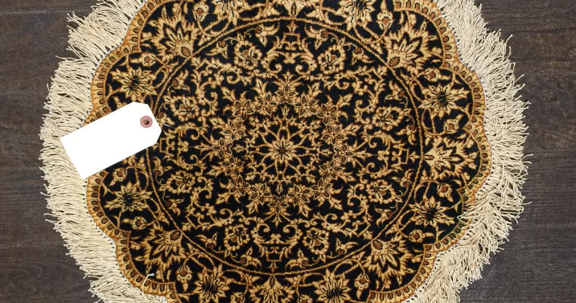 Persian Silk Carpet 5118