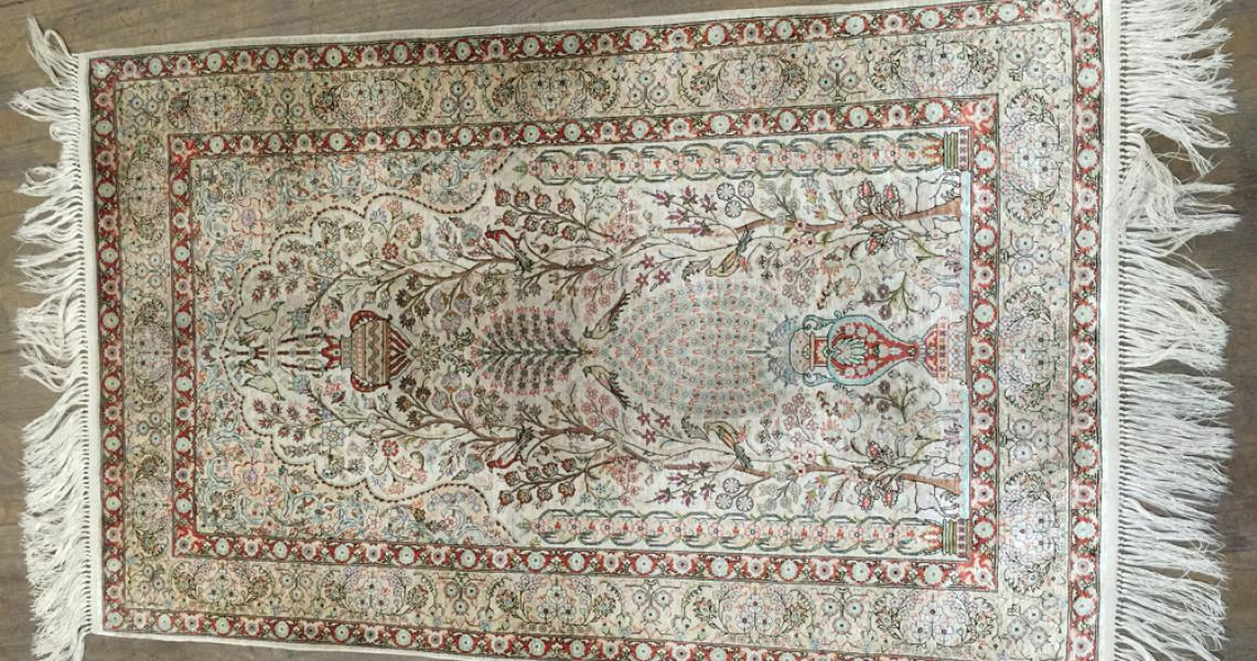 Persian Silk Carpet 5154