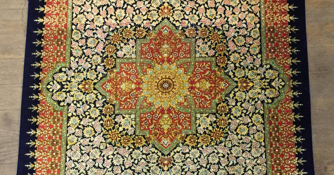 Persian Silk Carpet 5160