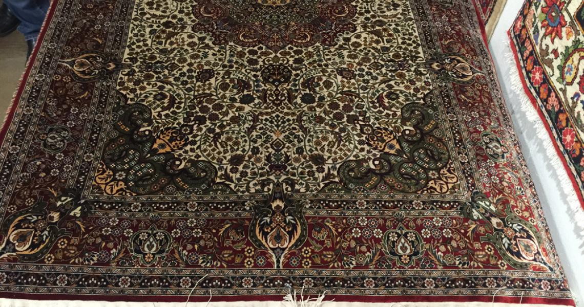 Persian Silk Carpet 5164