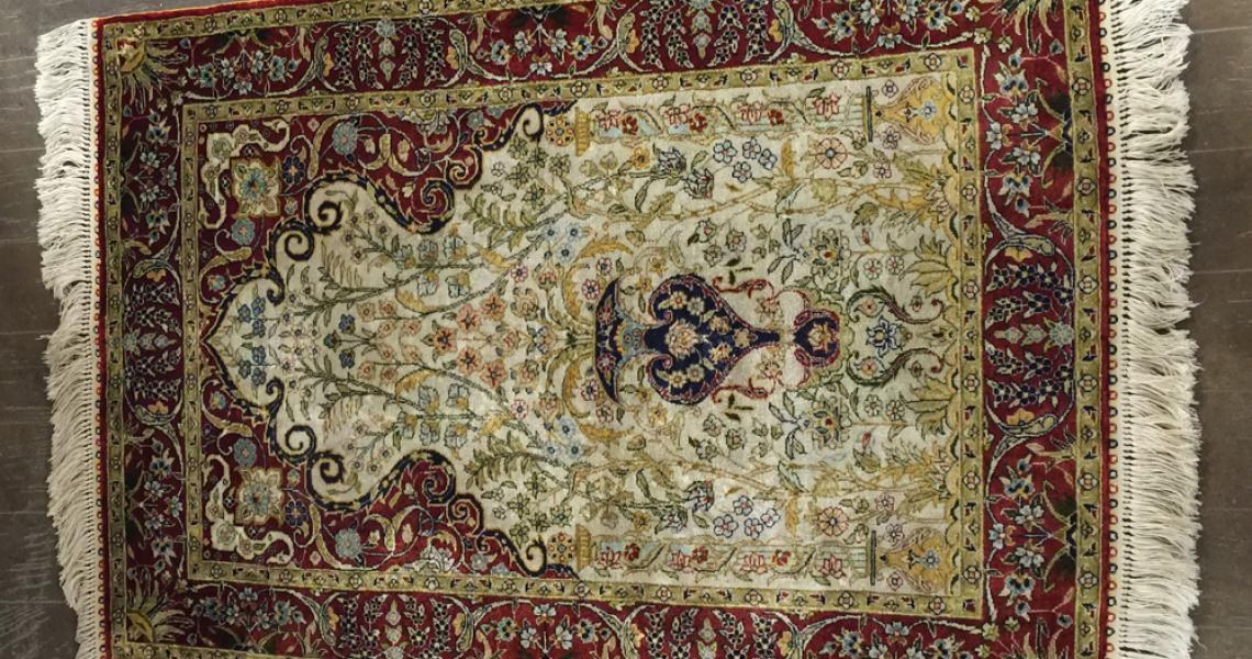 Persian Silk Carpet 5167