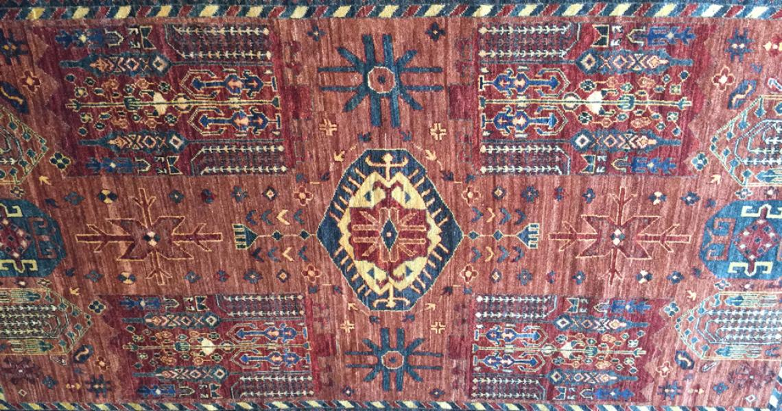 Persian Tribal Carpet 5122