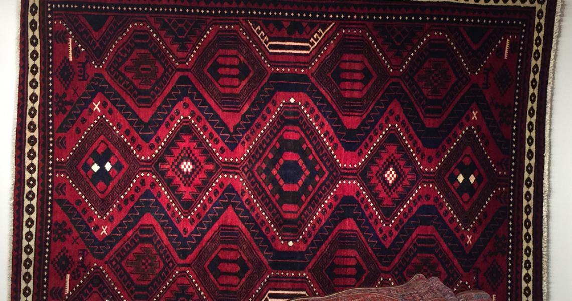 Persian Tribal Carpet 5140