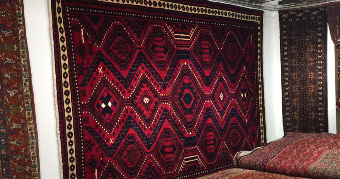Persian Tribal Carpet 5142
