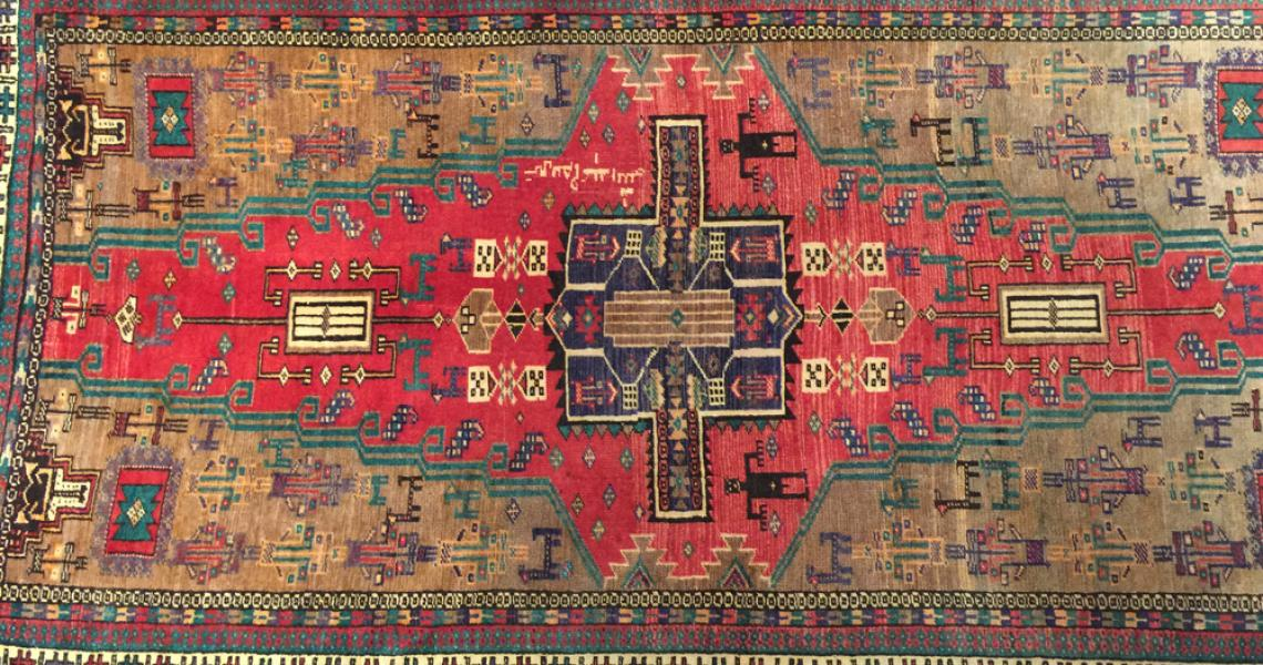 Persian Village Carpet 5193